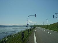 国道238号線(オホーツクライン)
