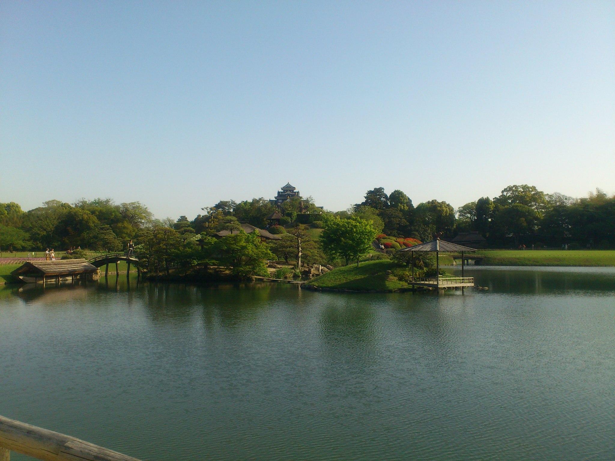 後楽園・岡山城