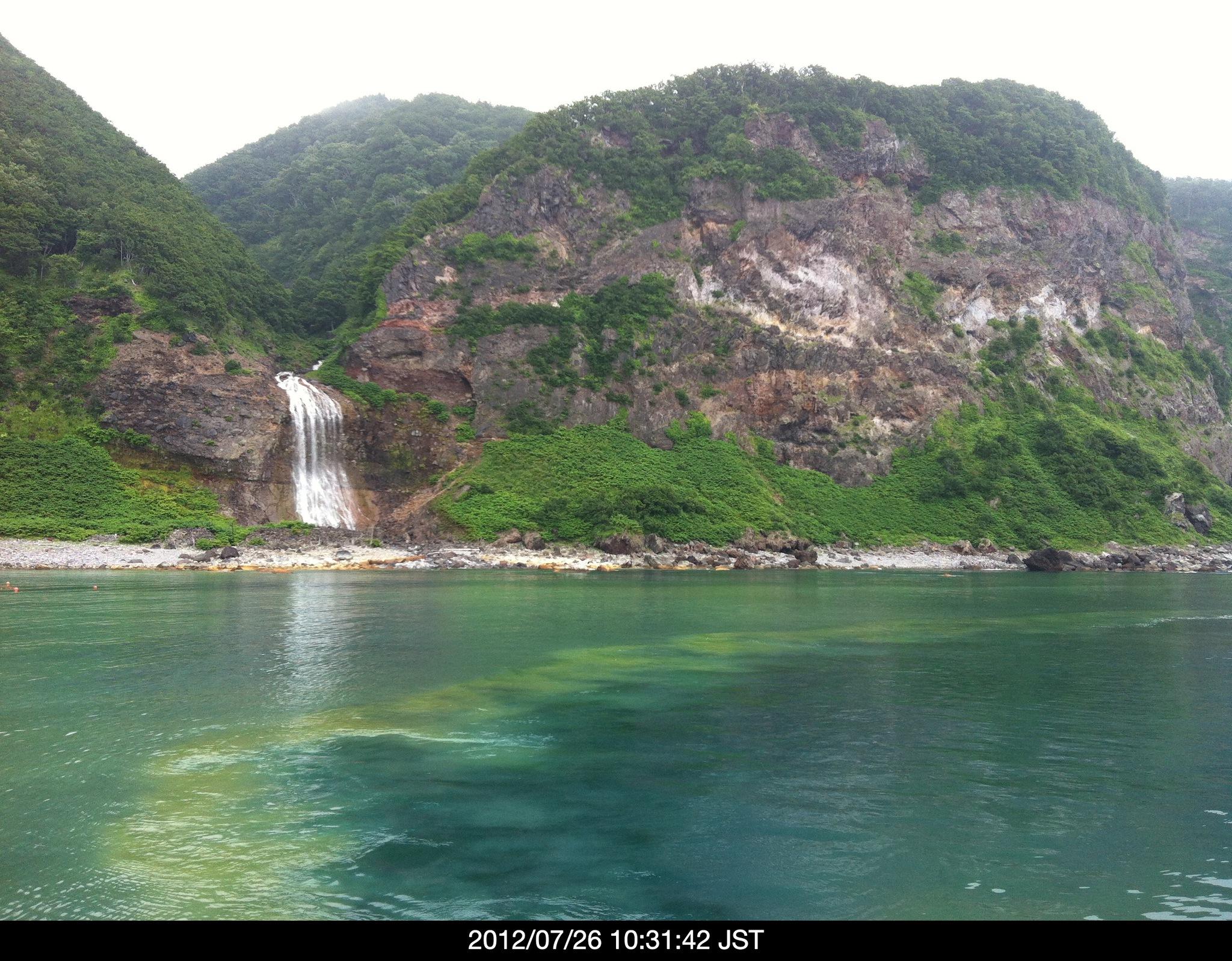 知床半島の幻想的な風景