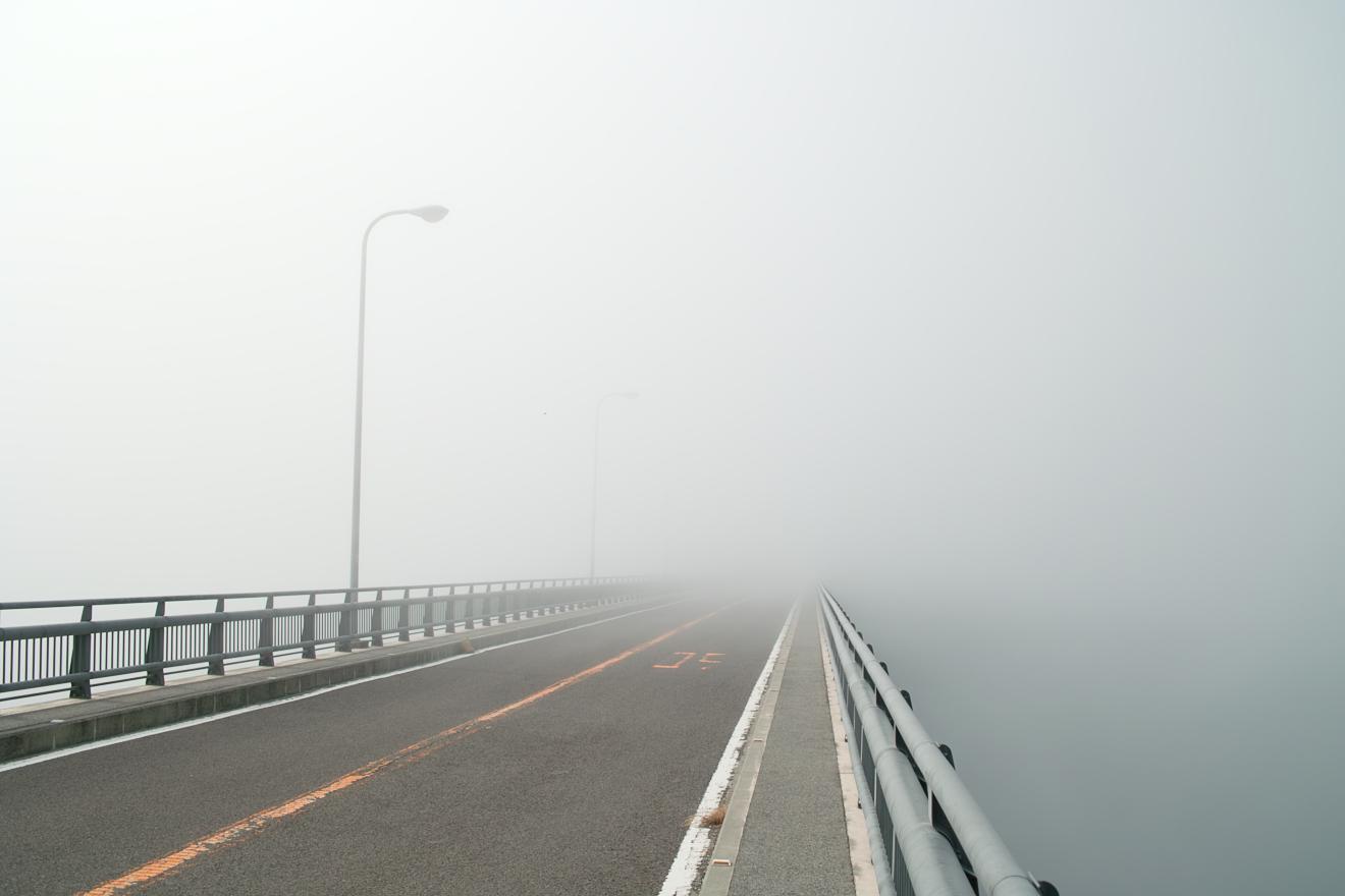 海を見ることなく四国上陸