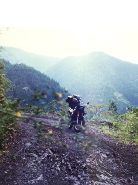 紀伊半島を横に横断。 和歌山まで