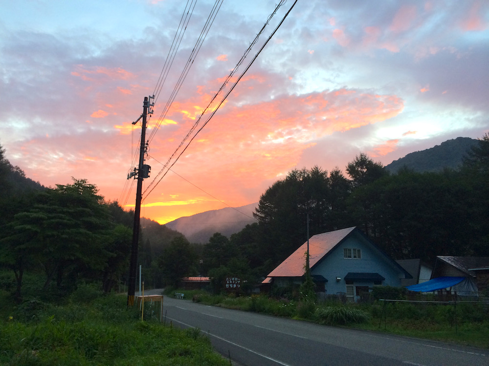 最終日の夜明け
