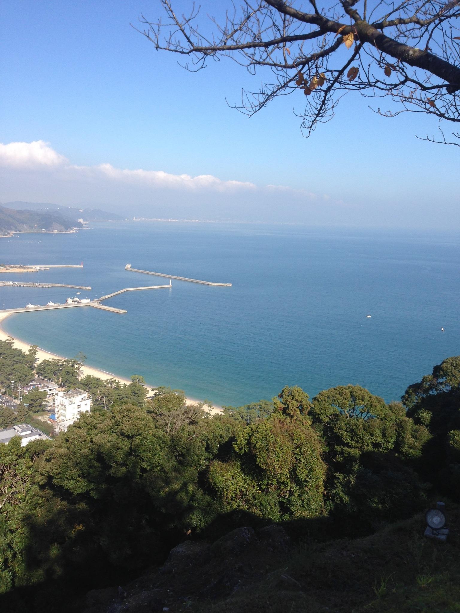 洲本城からの景色