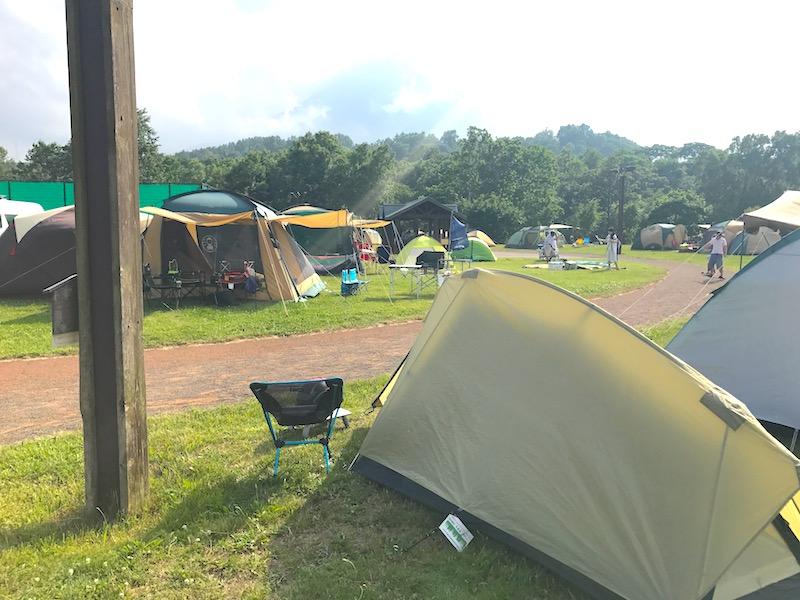 スリーユーパークキャンプ場