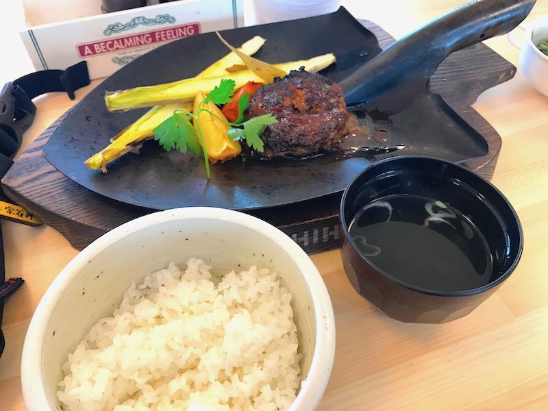 士幌牛ハンバーグ定食