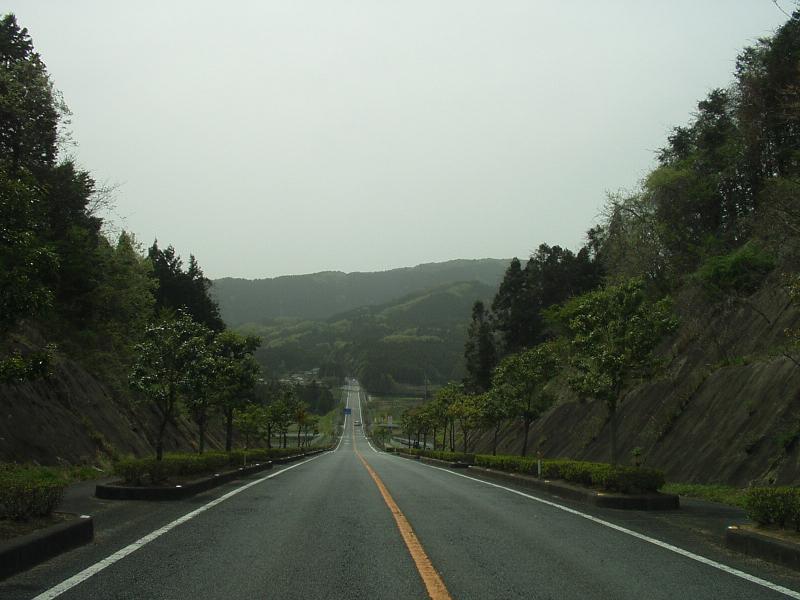 国道289号線