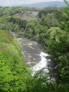 吹割の滝 観瀑ツーリング